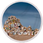 Fort Irwin Round Beach Towel