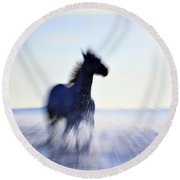 Freedom Round Beach Towel by Allen Beilschmidt