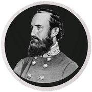 General Stonewall Jackson - Five Round Beach Towel