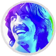 George Harrison Round Beach Towel