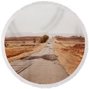 Going Home Round Beach Towel
