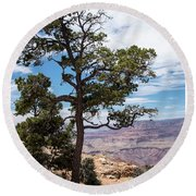 Round Beach Towel featuring the photograph Grand Canyon, Arizona by A Gurmankin