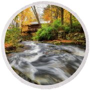Gunstock Brook Round Beach Towel