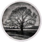 Hagley Tree Round Beach Towel