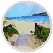 Hamelin Bay Round Beach Towel