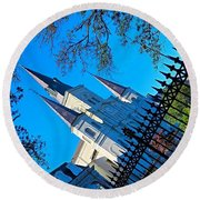 #happy Thursday From #stlouiscathedral Round Beach Towel