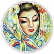 Harmony Round Beach Towel