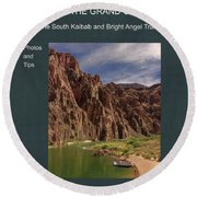 Hiking The Grand Canyon The South Kaibab And Bright Angel Trails Photos And Tips Round Beach Towel