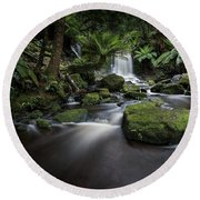 Horseshoe Falls Round Beach Towel
