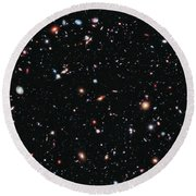 Hubble Extreme Deep Field Round Beach Towel