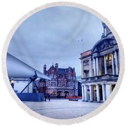 Hull Blade - City Of Culture 2017 Round Beach Towel