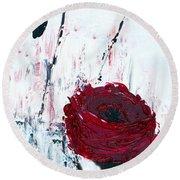 Impressionist Floral B8516 Round Beach Towel