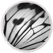 In Abstract... Round Beach Towel