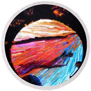 Inspire Three Round Beach Towel