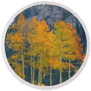 Just The Ten Of Us Round Beach Towel