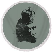 King Ape Round Beach Towel