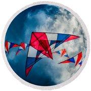 Kites Round Beach Towel