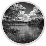 Lake Alice Round Beach Towel by Louis Ferreira