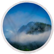 Lake Lure Round Beach Towel