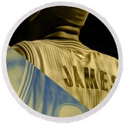Lebron James Collection Round Beach Towel
