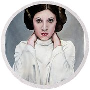 Leia Round Beach Towel