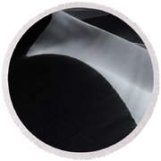 Light And Shadow Round Beach Towel by Mike Dawson
