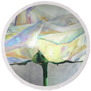 Lightness Round Beach Towel