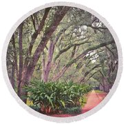 Love The #liveoak #trees And This Round Beach Towel