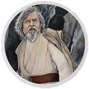 Luke Skywalker Round Beach Towel