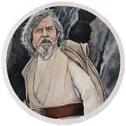 Luke Skywalker Round Beach Towel