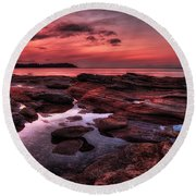 Madrona Round Beach Towel by Randy Hall