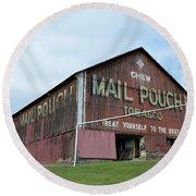 Mail Pouch Round Beach Towel by Jewels Blake Hamrick