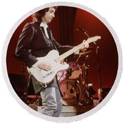 Mike Campbell Round Beach Towel
