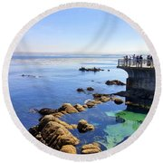 Montery Bay Round Beach Towel