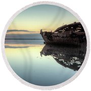 Motueka Sunrise 2 Round Beach Towel