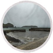 Mullion Cove Round Beach Towel
