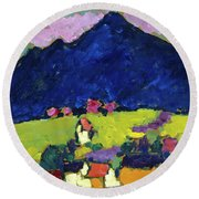Murnau Round Beach Towel