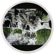 Mysterion II Round Beach Towel