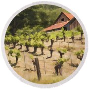 Napa Barn Round Beach Towel