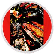 Natures Gift  Two Round Beach Towel