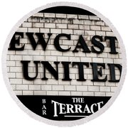 Newcastle United Round Beach Towel