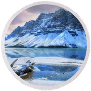 Round Beach Towel featuring the photograph Num Ti Jah by John Poon