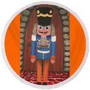 Nutcracker Sweet Round Beach Towel