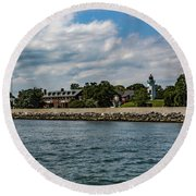 Old Point Comfort Light Round Beach Towel