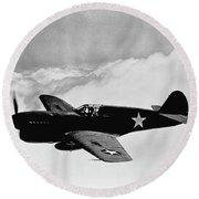 P-40 Warhawk Round Beach Towel