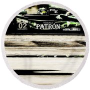 Patron Round Beach Towel by Michael Nowotny