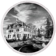 Peirce Farm At Witch Hill Round Beach Towel