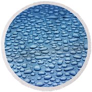 Precipitation 4 Round Beach Towel