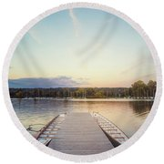 Prelude To Silence Round Beach Towel