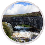 Ps I Love You Bridge In Ireland Round Beach Towel